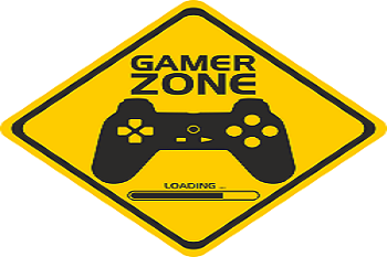 A sign stating Gamer Zone